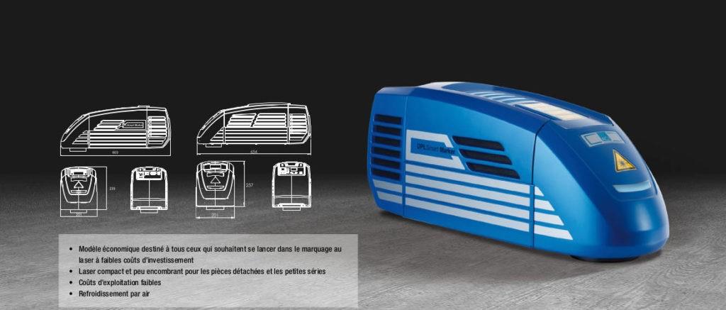Source laser DPL Smart Marker pour système de marquage laser - ACI Laser GmbH