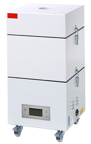Série LN Système d'extration et filtration de marquage laser