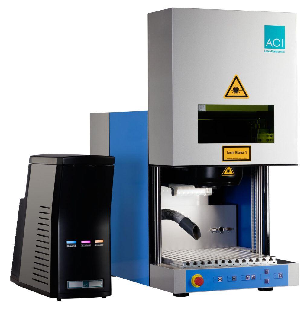 Station de travail Workstation Classic permettant d'accueillir les sources laser ACI Laser