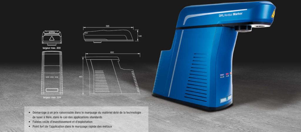 Source laser Smart Marker Economy Fibre pour systèe de marquage laser - ACI Laser GmbH
