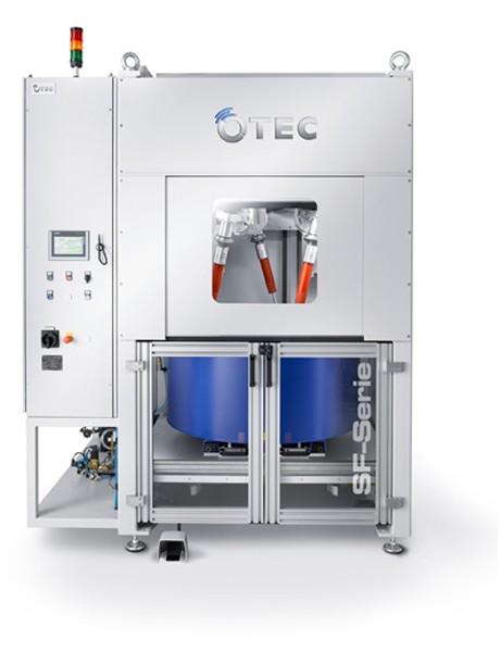 Machines de polissage à flux continu - OTEC Série SF Manuel