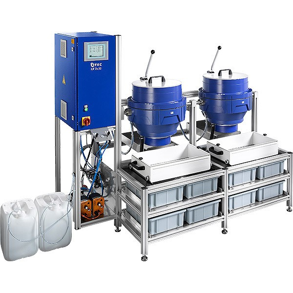 Machine de tribofinition Otec CF Standard - Polissage Production de masse
