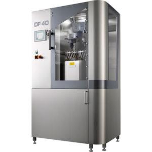 Machine de traitement de surface pour l'industrie pharmaceutique et alimentaire
