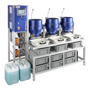 Machine de tribofinition à force centrifuge - OTEC CF Standard