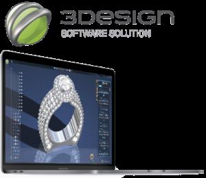 3Design Logiciel 3D CAO Bijouterie
