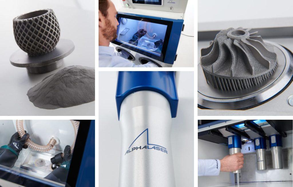 Exemples de fabrication de pièces métalliques avec une imprimante 3D métal