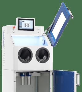 Déchargement des composants en métal imprimé